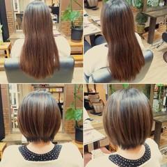 ショート ショートボブ ストリート ヘアスタイルや髪型の写真・画像