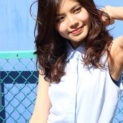 ゆるふわ フェミニン アッシュ 大人かわいい ヘアスタイルや髪型の写真・画像