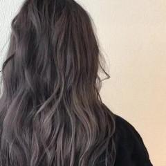 セミロング ブリーチ ストリート ダブルカラー ヘアスタイルや髪型の写真・画像