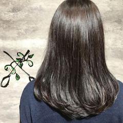 ナチュラル ロング イルミナカラー ヘアスタイルや髪型の写真・画像