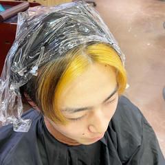 ベリーショート エレガント 韓国風ヘアー ブリーチカラー ヘアスタイルや髪型の写真・画像