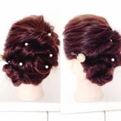 お祭り 花火大会 夏 ヘアアレンジ ヘアスタイルや髪型の写真・画像