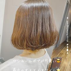 透明感 透明感カラー モテボブ 圧倒的透明感 ヘアスタイルや髪型の写真・画像