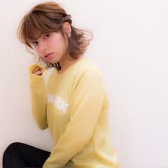 モテ髪 愛され 簡単ヘアアレンジ ヘアアレンジ ヘアスタイルや髪型の写真・画像