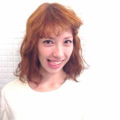 イエロー ボブ モテ髪 秋 ヘアスタイルや髪型の写真・画像