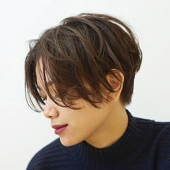 デート スポーツ ショート モード ヘアスタイルや髪型の写真・画像