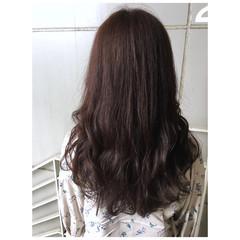 ピンクベージュ ナチュラル ラベンダーピンク ピンクブラウン ヘアスタイルや髪型の写真・画像