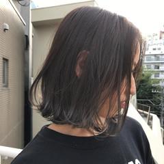 透明感 ナチュラル グレージュ 秋 ヘアスタイルや髪型の写真・画像