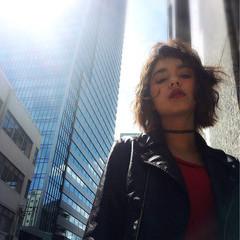 ストリート アッシュ 外ハネ 外国人風 ヘアスタイルや髪型の写真・画像