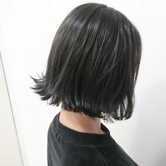 暗髪 抜け感 大人かわいい ナチュラル ヘアスタイルや髪型の写真・画像
