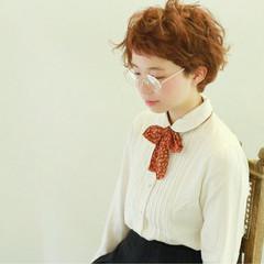 ナチュラル ショート クラシカル 秋 ヘアスタイルや髪型の写真・画像