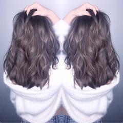 外国人風 ハイライト アッシュ 渋谷系 ヘアスタイルや髪型の写真・画像