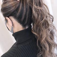 3Dハイライト ハイライト 大人ハイライト ロング ヘアスタイルや髪型の写真・画像