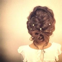 ヘアアレンジ ブライダル 結婚式 ロング ヘアスタイルや髪型の写真・画像