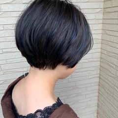 エアリー ミニボブ ベリーショート モード ヘアスタイルや髪型の写真・画像
