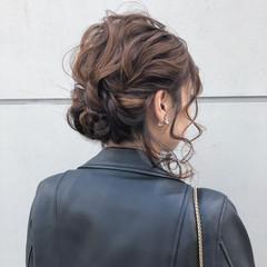 結婚式 デート 簡単ヘアアレンジ 成人式 ヘアスタイルや髪型の写真・画像