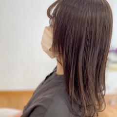 ナチュラル アッシュベージュ 髪質改善 フォギー ヘアスタイルや髪型の写真・画像