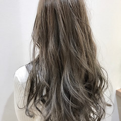 渋谷系 ハイライト アッシュ 外国人風 ヘアスタイルや髪型の写真・画像
