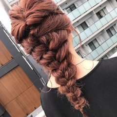 ロング 成人式 ナチュラル ヘアアレンジ ヘアスタイルや髪型の写真・画像