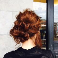ミディアム ショート 簡単ヘアアレンジ ゆるふわ ヘアスタイルや髪型の写真・画像