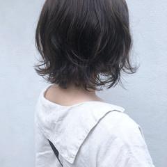 ナチュラル パーマ ショートヘア ボブ ヘアスタイルや髪型の写真・画像