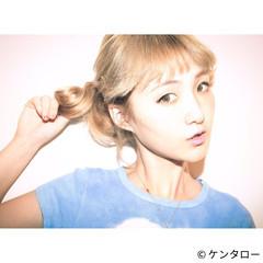 ショート ポニーテール 外国人風 大人かわいい ヘアスタイルや髪型の写真・画像