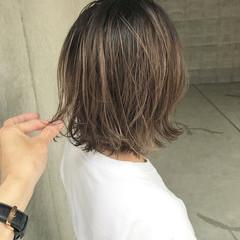ヘアアレンジ アンニュイ ボブ ウェーブ ヘアスタイルや髪型の写真・画像