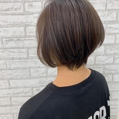 ショートヘア ショートボブ ナチュラル ショート ヘアスタイルや髪型の写真・画像