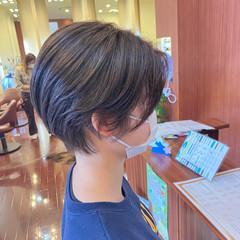 マッシュヘア マッシュ ショートヘア ナチュラル ヘアスタイルや髪型の写真・画像