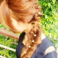 コンサバ パーティ 大人かわいい モテ髪 ヘアスタイルや髪型の写真・画像