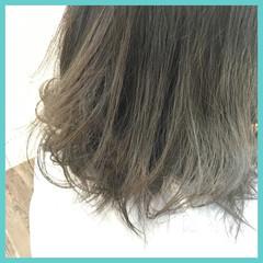 外国人風 アッシュ ストリート グレージュ ヘアスタイルや髪型の写真・画像