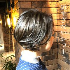 ショート ベリーショート ショートボブ ショートヘア ヘアスタイルや髪型の写真・画像