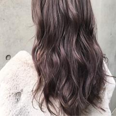 ラベンダーアッシュ ストリート 外国人風カラー グレージュ ヘアスタイルや髪型の写真・画像