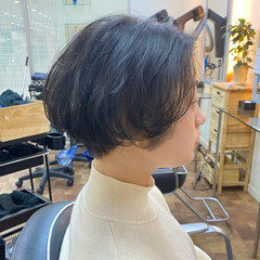 セピアカラー ショートヘア インナーカラー ショート ヘアスタイルや髪型の写真・画像