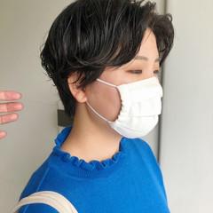 ミニボブ ショート ショートパーマ ショートヘア ヘアスタイルや髪型の写真・画像