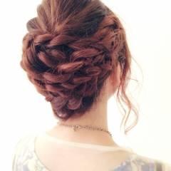 ロング フェミニン モテ髪 ヘアアレンジ ヘアスタイルや髪型の写真・画像