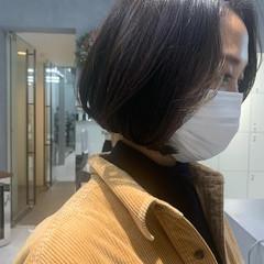 ヘアカット ミニボブ ボブ 似合わせカット ヘアスタイルや髪型の写真・画像