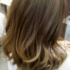 ストリート ブラウンベージュ 外国人風 パンク ヘアスタイルや髪型の写真・画像