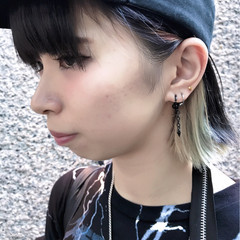 ダブルカラー ストリート グレージュ 外国人風カラー ヘアスタイルや髪型の写真・画像