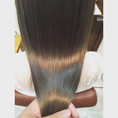 ストリート ミルクティー グレージュ ミルクティーベージュ ヘアスタイルや髪型の写真・画像