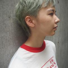 ショートヘア ベリーショート ショート ストリート ヘアスタイルや髪型の写真・画像