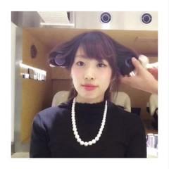 大人女子 小顔 こなれ感 ワンカール ヘアスタイルや髪型の写真・画像