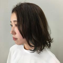 マッシュ レイヤーカット ミディアム 色気 ヘアスタイルや髪型の写真・画像