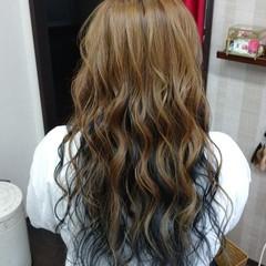 ロング ストリート インナーカラー #インナーカラー ヘアスタイルや髪型の写真・画像