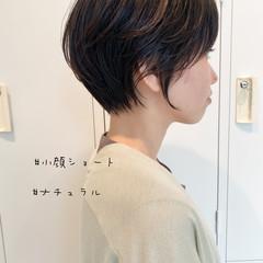 ミニボブ ベリーショート 切りっぱなしボブ ショート ヘアスタイルや髪型の写真・画像