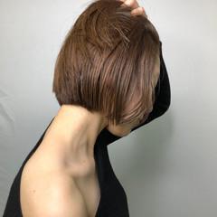 ヘアカラー ナチュラルベージュ ベージュ ナチュラル ヘアスタイルや髪型の写真・画像
