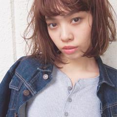 外国人風 パーマ 前髪あり ゆるふわ ヘアスタイルや髪型の写真・画像
