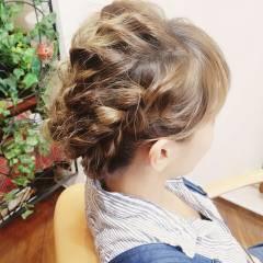 ヘアアレンジ ロング 外国人風 ガーリー ヘアスタイルや髪型の写真・画像