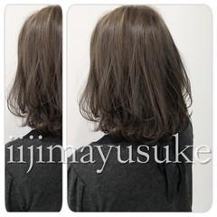 暗髪 大人かわいい アッシュ 外国人風 ヘアスタイルや髪型の写真・画像