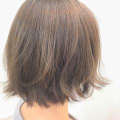 透明感 ナチュラル 外ハネ 大人女子 ヘアスタイルや髪型の写真・画像